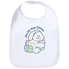 Bunny 1st Easter Bib