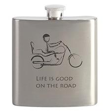 Motorcycle life is good Flask