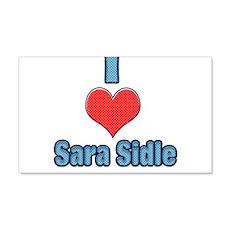 I heart Sara Sidle 2 Wall Decal