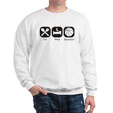 Eat, Sleep, Basketball Sweatshirt