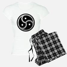 Silver Look BDSM Emblem Pajamas