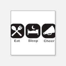 Eat, Sleep, Cheer Sticker