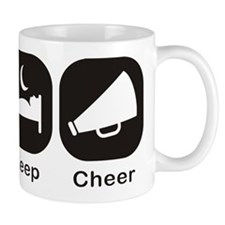Eat, Sleep, Cheer Small Mug