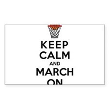 Keep Calm and March On Decal