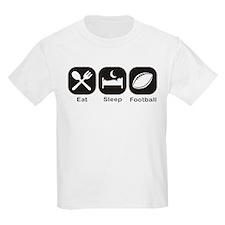Eat, Sleep, Football T-Shirt