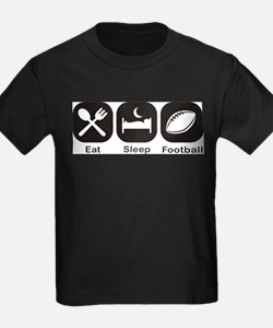 Eat, Sleep, Football T-Shirt