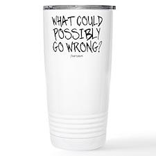 '/Sarcasm' Travel Mug