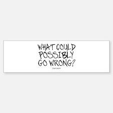 '/Sarcasm' Bumper Bumper Sticker