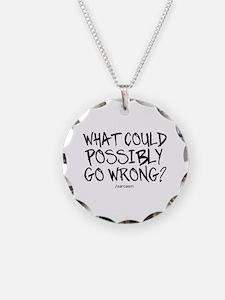 '/Sarcasm' Necklace
