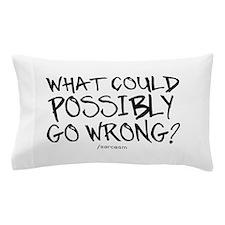 '/Sarcasm' Pillow Case