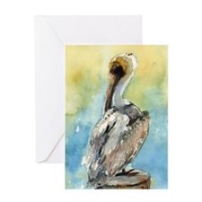 Pelican Brief Greeting Card