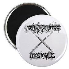"""Flutes Rock 2.25"""" Magnet (100 pack)"""
