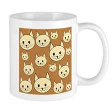 Cats. Neutral Colors. Mug