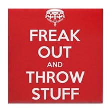 Freak Out Tile Coaster