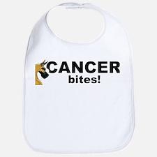 C Fawn Cancer Bites Bib