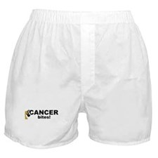 C Fawn Cancer Bites Boxer Shorts
