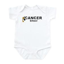 C Fawn Cancer Bites Infant Bodysuit