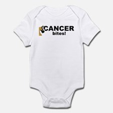 C Fawn Cancer Bites Infant Bodysuit