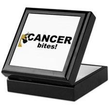 C Fawn Cancer Bites Keepsake Box