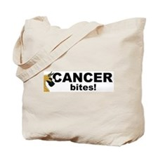 C Fawn Cancer Bites Tote Bag
