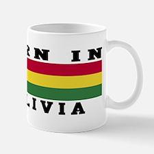 Born In Bolivia Mug