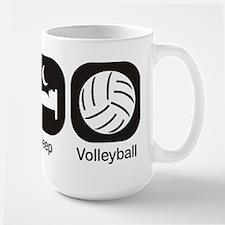 Eat, Sleep, Volleyball Mug
