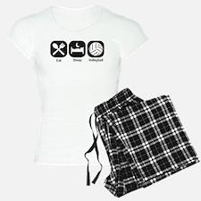 Eat, Sleep, Volleyball Pajamas