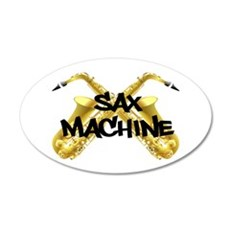Sax Machine! Wall Decal