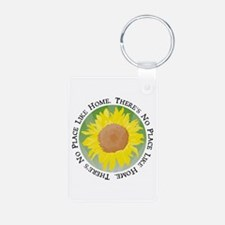 There's No Place Like Home Keychains