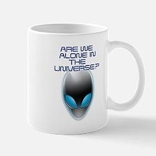 UFO Aliens Are we Alone in the Universe? Mug