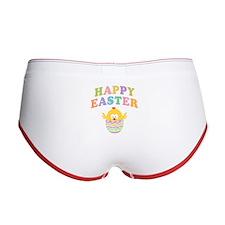 Happy Easter Chicken Women's Boy Brief
