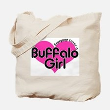 Everyone Loves a Buffalo Girl Tote Bag