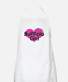 Everyone Loves a Buffalo Girl BBQ Apron