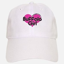 Everyone Loves a Buffalo Girl Baseball Baseball Cap