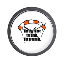 'Not The Limit' Wall Clock