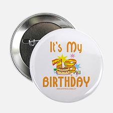 18th Birthday Button