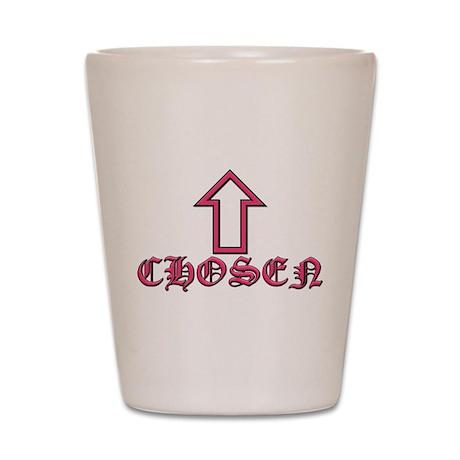 Chosen Pink Shot Glass