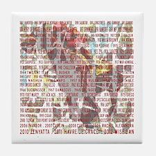 Horses of the Year 1887-2012 II Tile Coaster