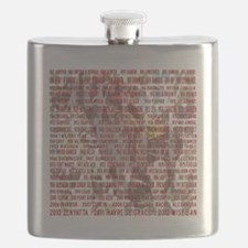 Horses of the Year 1887-2012 II Flask