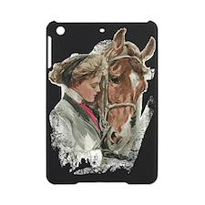 Vintage Girl And Horse iPad Mini Case