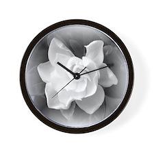Gardenia Blossom Wall Clock