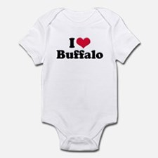 I Love Buffalo (with snow) Infant Bodysuit