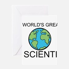 Worlds Greatest Scientist Greeting Card