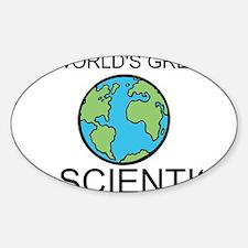 Worlds Greatest Scientist Decal