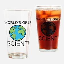 Worlds Greatest Scientist Drinking Glass