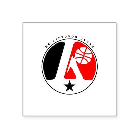 BC Lietuvos Rytas Rectangle Sticker