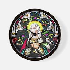 St Theresa Wall Clock