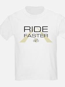 Ride Faster (BW) T-Shirt