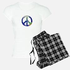 Earth Peace Sign Pajamas