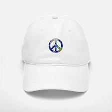 Earth Peace Sign Baseball Baseball Baseball Cap